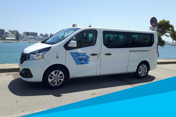 taxi en La Linea